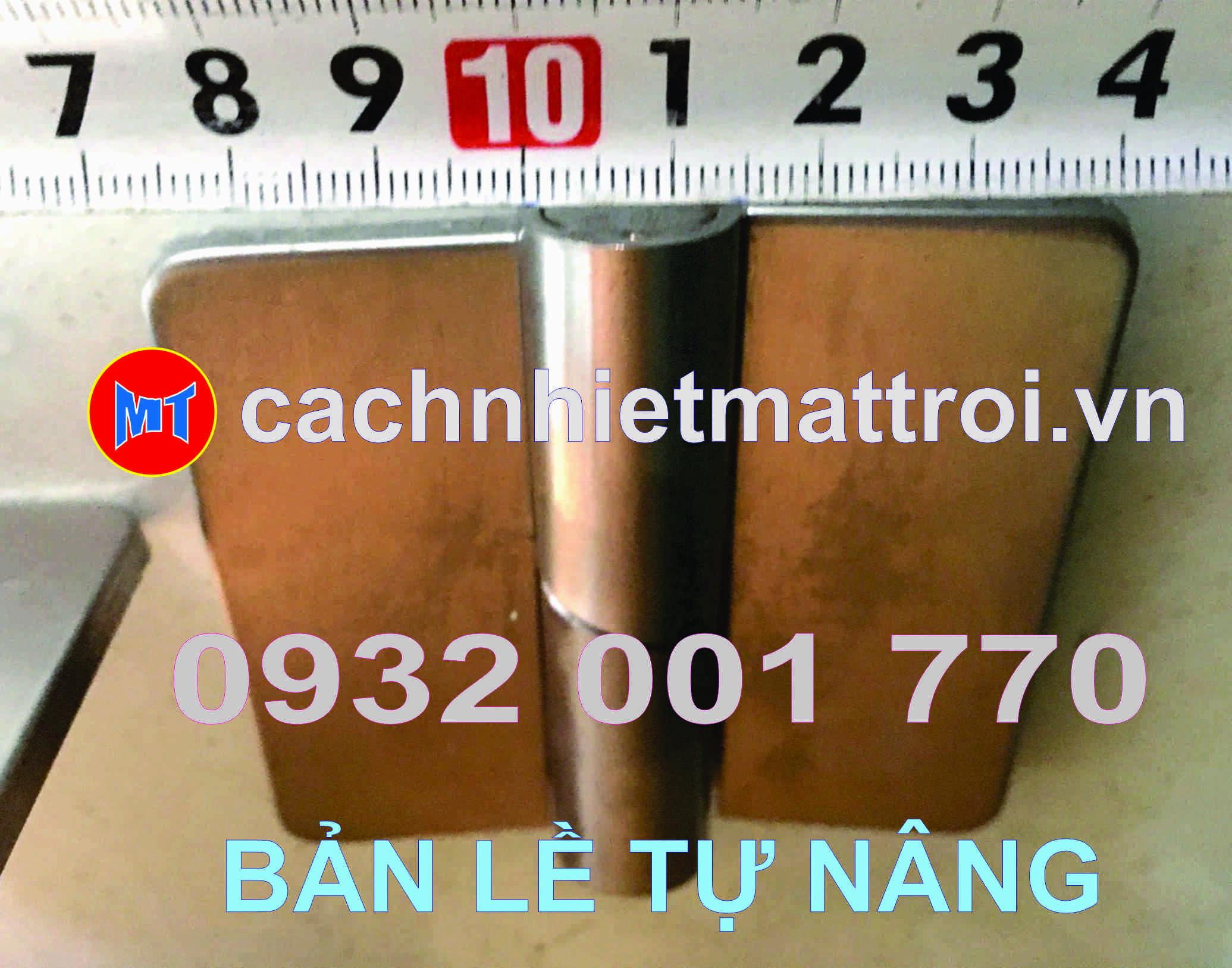 hình 3 BẢN LỀ CỐI TỰ NÂNG INOX 304