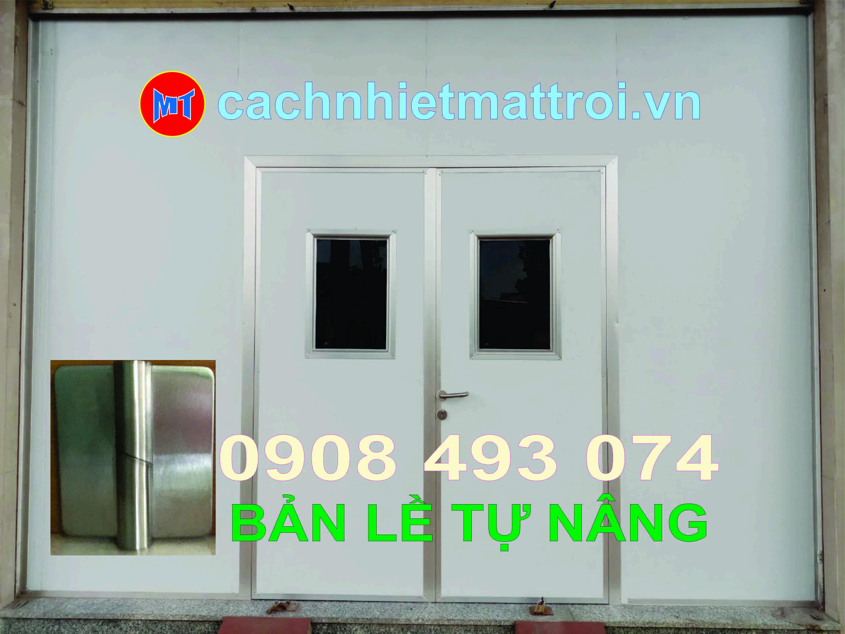 hình ảnh sản phẩm BẢN LỀ TỰ NÂNG INOX 304 - BẢN LỀ CỬA PANEL PHÒNG SẠCH