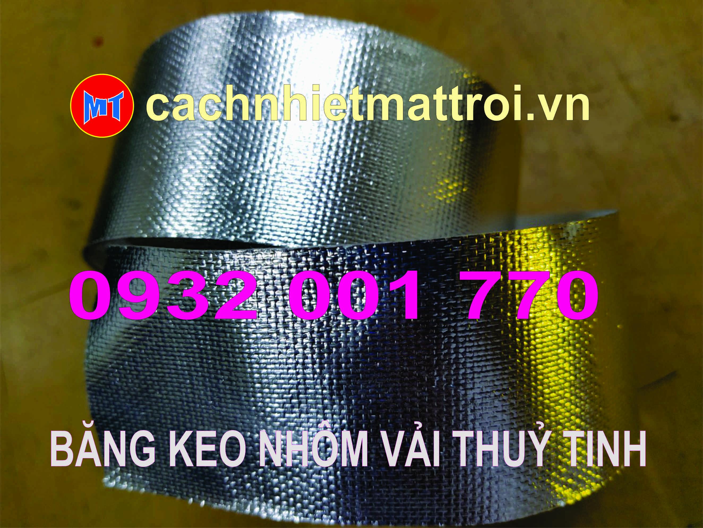 hình ảnh sản phẩm BĂNG KEO NHÔM CÓ GÂN - BĂNG KEO BẠC VẢI THUỶ TINH -  BONDTAPE.