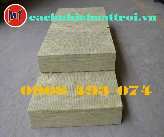 hình 1 Bông cách âm cách nhiệt - Rock Wool Board