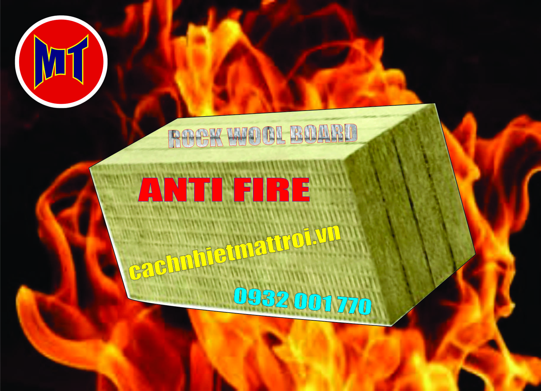 hình ảnh sản phẩm Bông chống cháy, cách nhiệt, cách âm