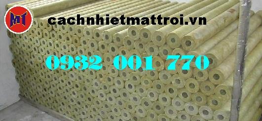 hình ảnh sản phẩm Bông sợi khoáng cách nhiệt dạng ống