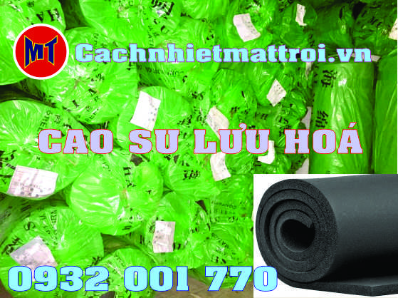 hình ảnh sản phẩm Cao Su Lưu Hóa chống rung cách âm
