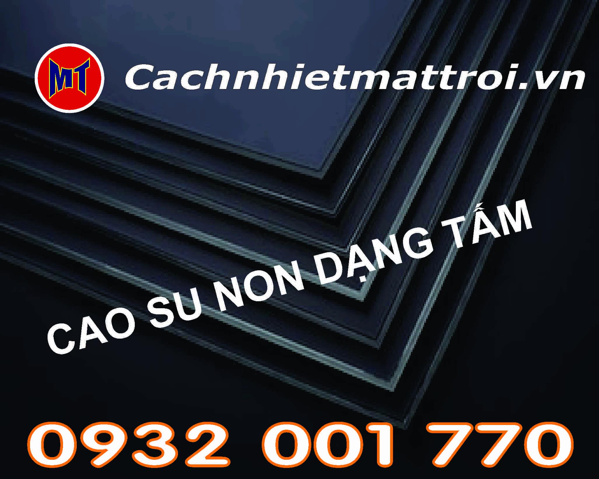 hình ảnh sản phẩm Cao su non cách âm chống rung dạng tấm dày 10mm  - Rubber Sheet_ D10