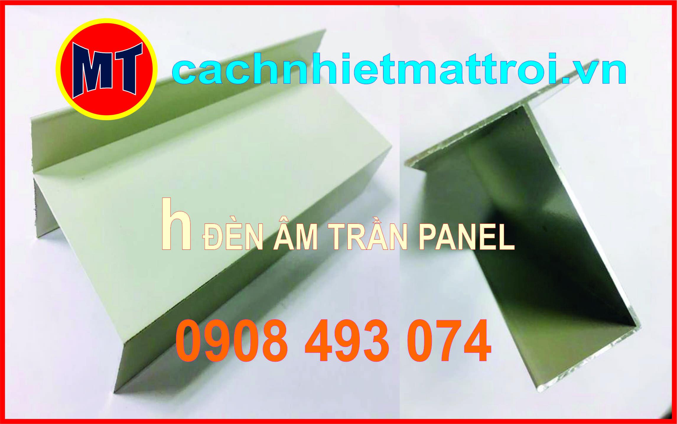 hình ảnh sản phẩm h nhôm lắp đèn âm trần - Phụ kiện cho panel phòng sạch