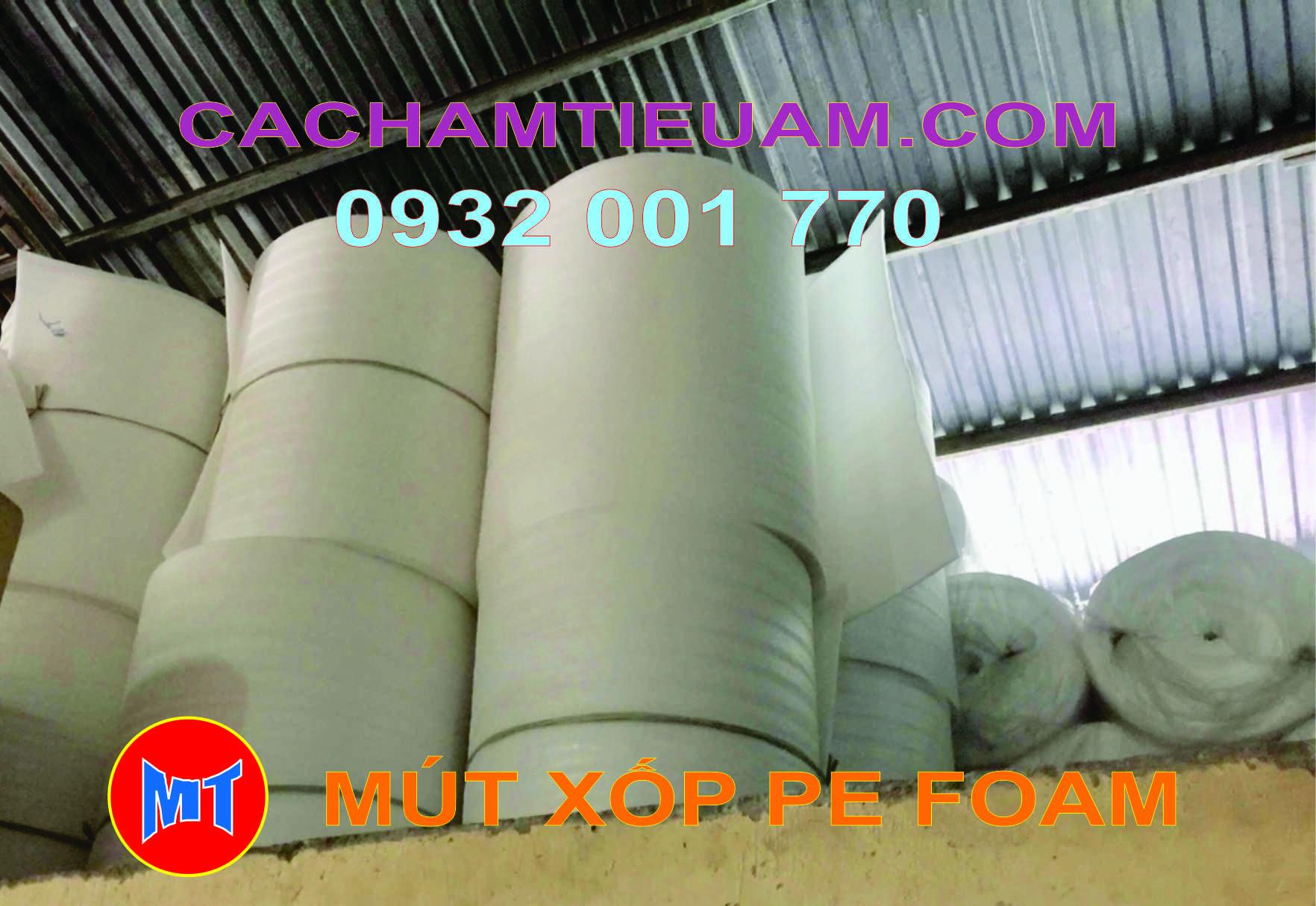 hình 3 Màng mút xốp pe foam bọc lót sản phẩm dày 10mm - 10T