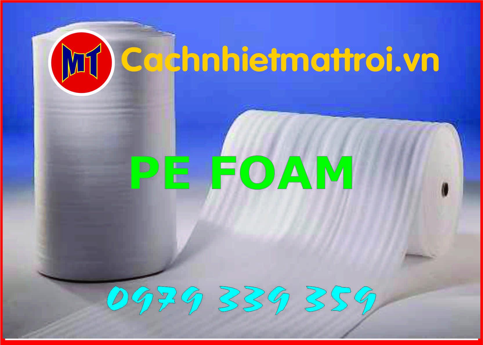 hình 1 Màng PE foam bọc gói hàng dày 2mm - 2T