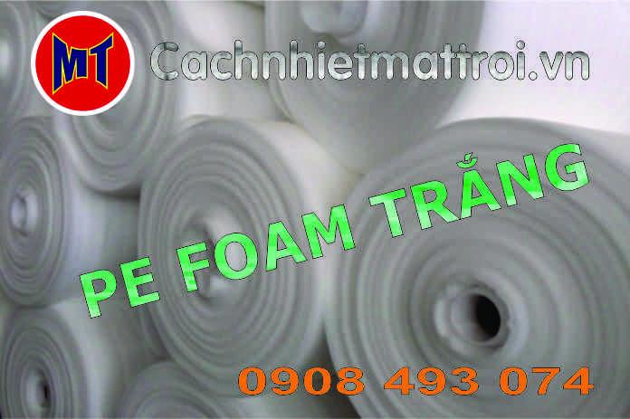 hình ảnh sản phẩm Màng PE foam bọc, gói hàng dày 3mm - 3T