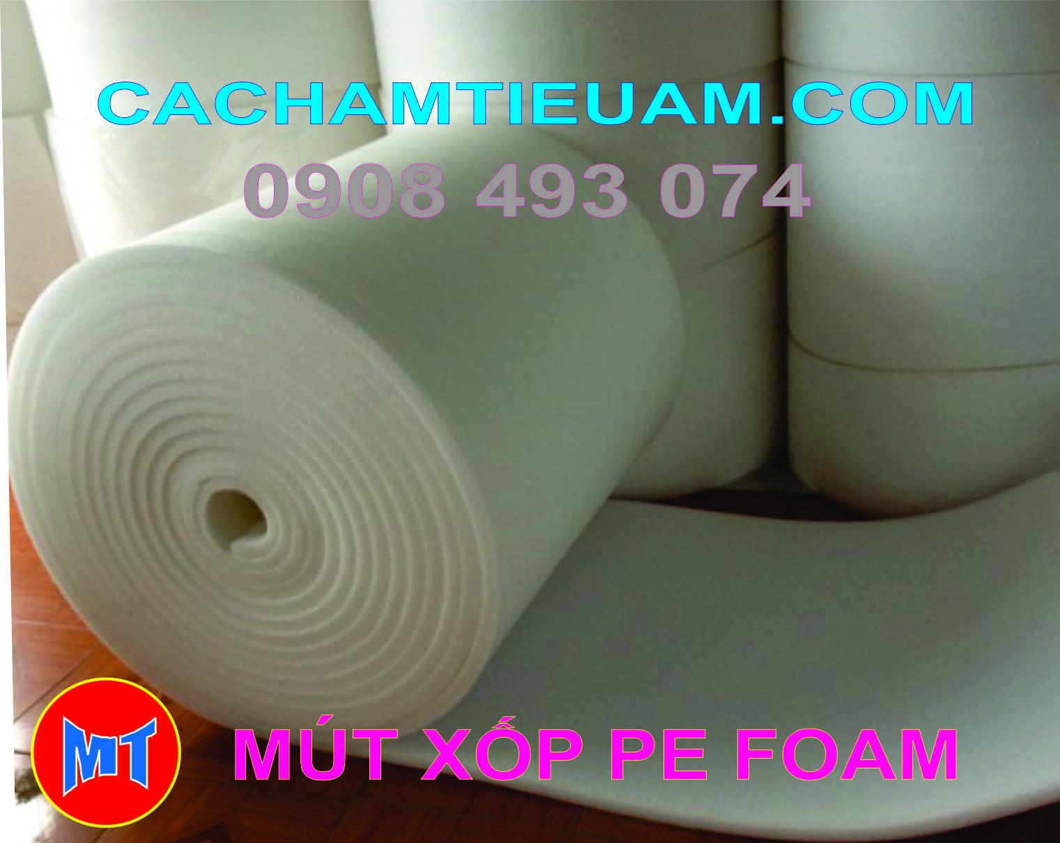 hình 3 Màng PE foam bọc lót hàng hoá, sản phẩm dày 5mm - 5T