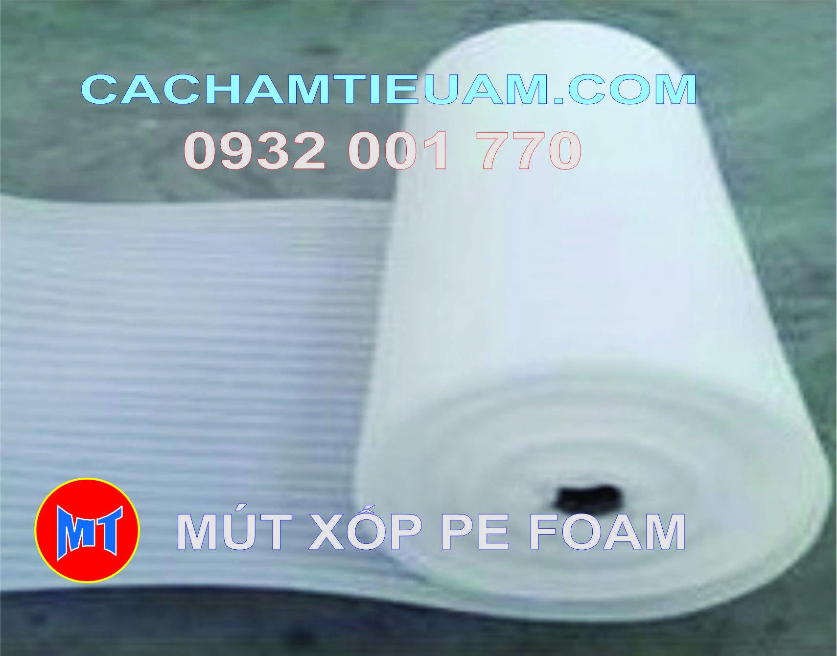 hình 2 Màng PE foam đóng gói hàng dày 1mm - 1T
