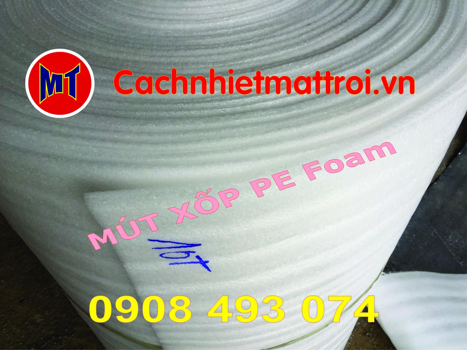 hình 1 Mút xốp PE Foam chuyên dụng làm áo phao cứu sinh