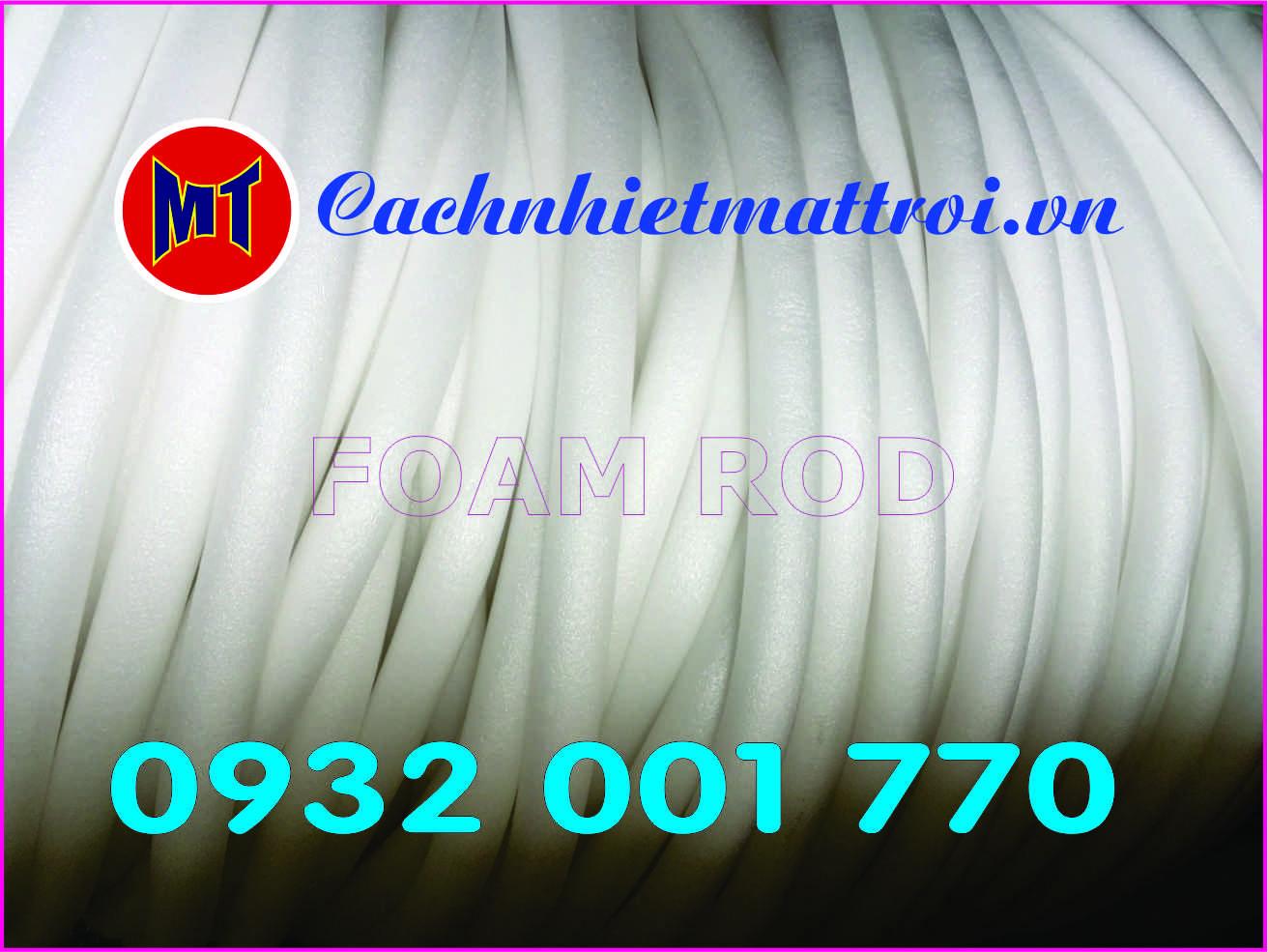 hình ảnh sản phẩm Mút xốp  - Ron xốp chèn khe dạng trụ tròn - PE foam