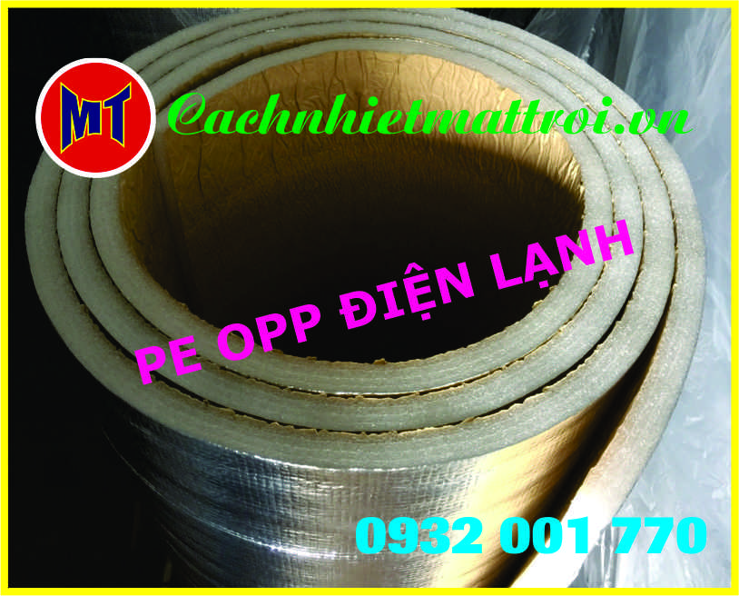 hình ảnh sản phẩm PE OPP một mặt keo ( Mút xốp điện lạnh)