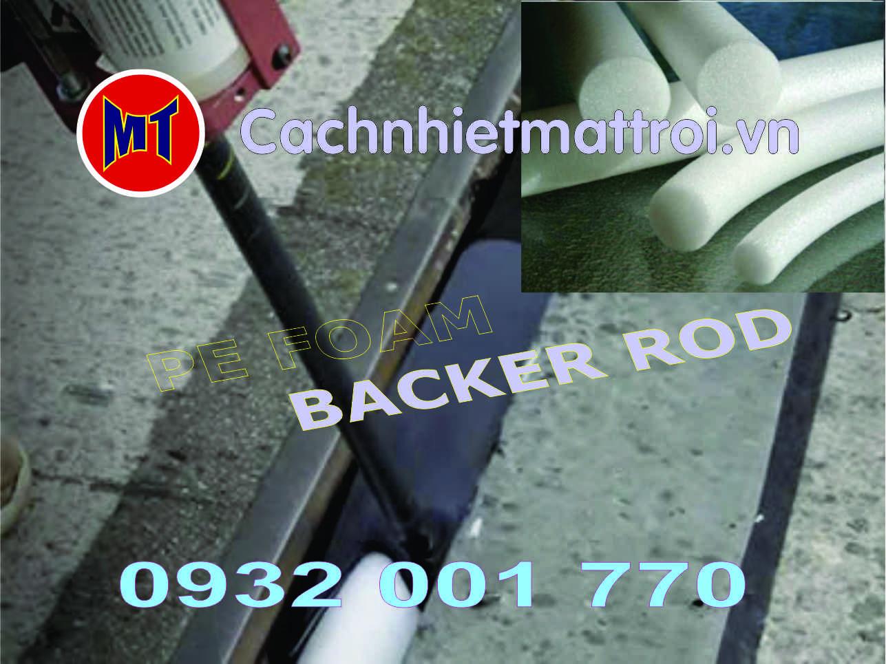 hình 3 Ron xốp tròn đặc phi 25mm - Backer Rod - PE Foam Rod đường kính 25mm