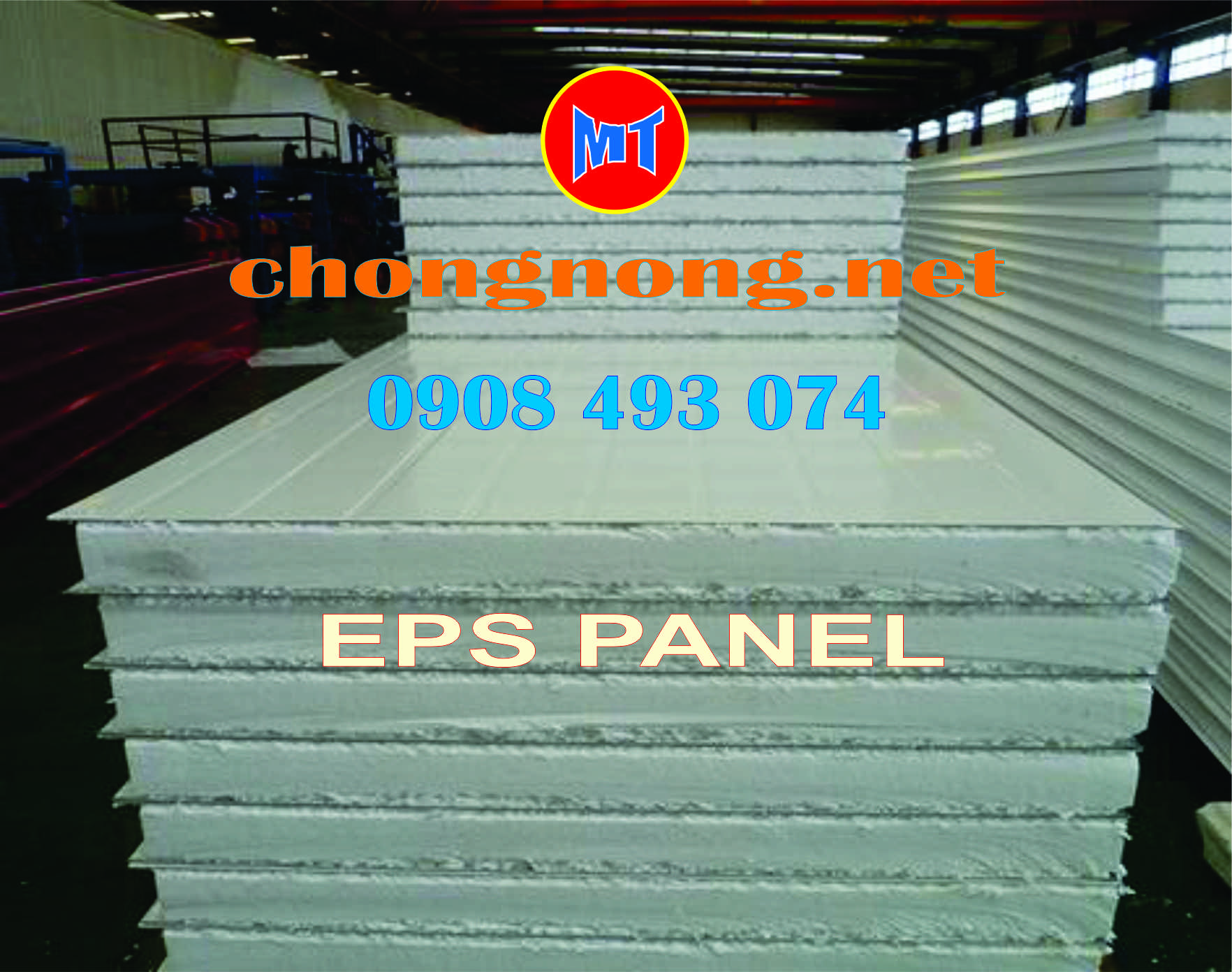 hình 2 Panel EPS - Panel Mốp xốp cách nhiệt