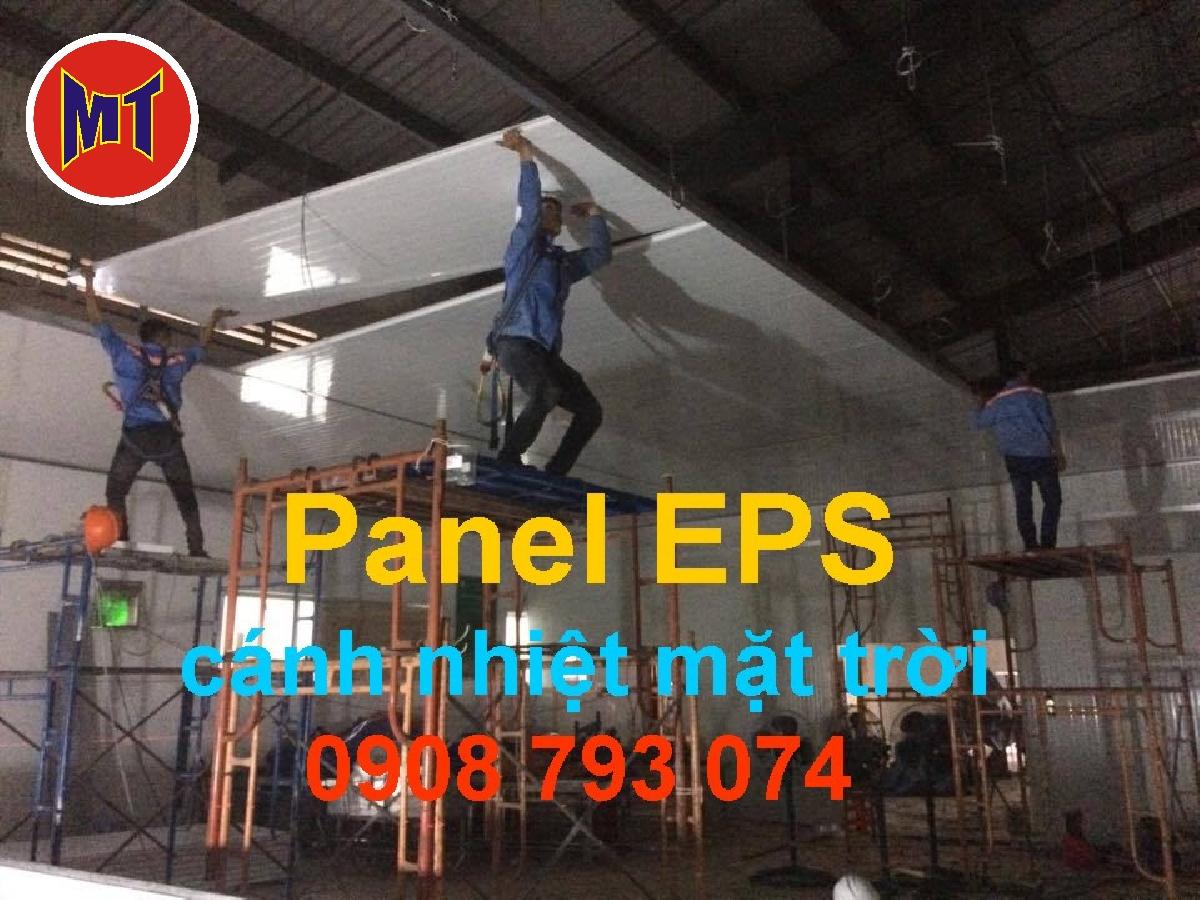 hình 1 Panel EPS - Panel Mốp xốp cách nhiệt