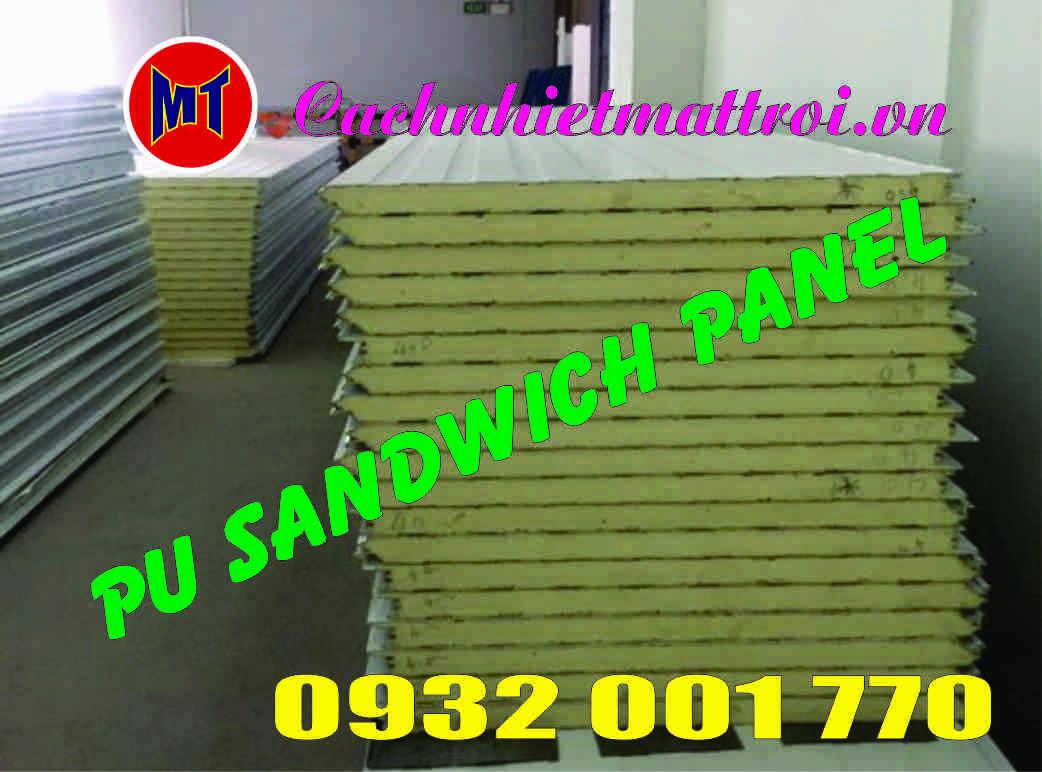 hình ảnh sản phẩm Sandwich panel PU - Panel phòng sạch
