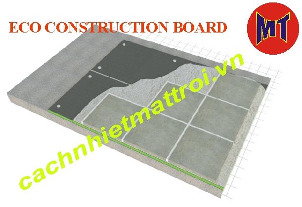 hình 3 Tấm Eco Foam cách nhiệt cách âm Tường Sàn Trần (ECO CONSTRUCTION BOARD )