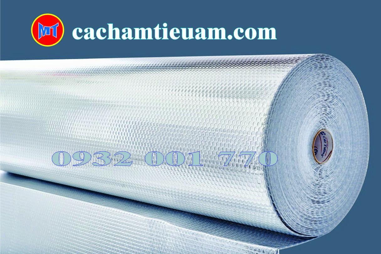 hình ảnh sản phẩm Túi khí cách nhiệt Cát Tường 2 mặt bặc - Tấm cách nhiệt P2