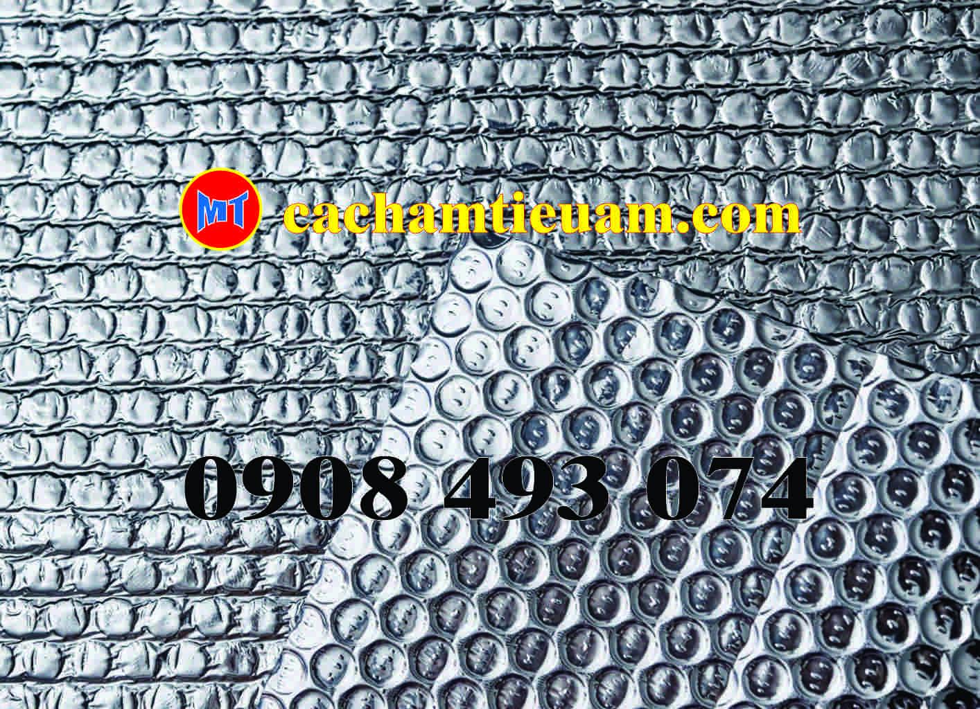 hình 2 Túi khí cách nhiệt Cát Tường 2 mặt bặc - Tấm cách nhiệt P2
